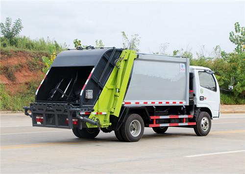 东风多利卡压缩式垃圾车︱5吨压缩式垃圾车图片