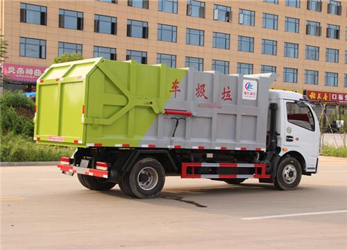 东风多利卡对接式垃圾车︱10方对接式垃圾车图片