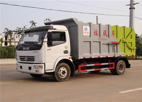 东风多利卡对接式垃圾车︱10方对接式垃圾车