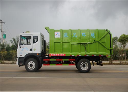 东风D9对接式垃圾车︱15方对接式垃圾车图片