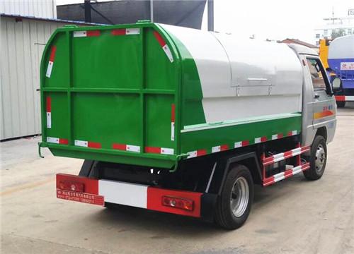 凯马密封式垃圾车︱3方密封式垃圾车图片