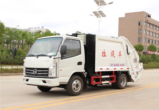 凯马压缩式垃圾车︱3吨压缩式垃圾车