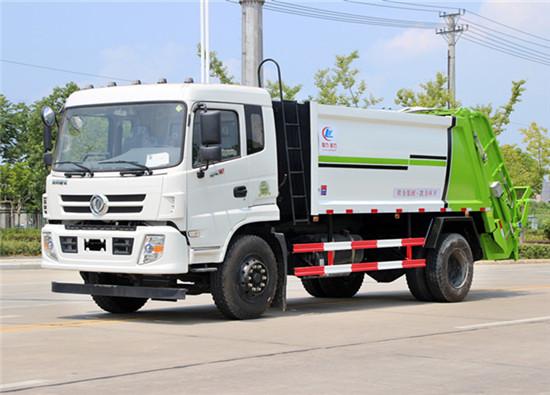 东风御虎压缩式垃圾车︱12吨压缩式垃圾车
