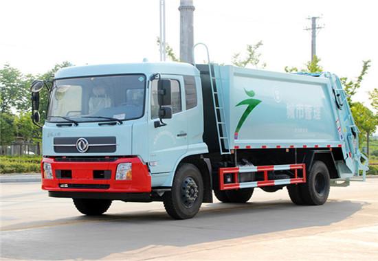东风天锦压缩式垃圾车︱12吨压缩式垃圾车