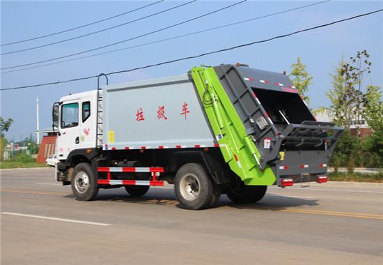 东风D9压缩式垃圾车︱10吨压缩式垃圾车图片