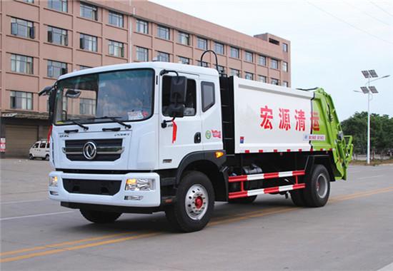 东风D9(10-12方)压缩式垃圾车图片