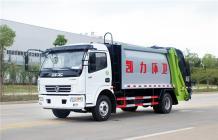 东风多利卡压缩式垃圾车︱8吨压缩式垃圾车