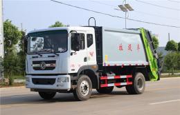 东风D9压缩式垃圾车︱10吨压缩式垃圾车