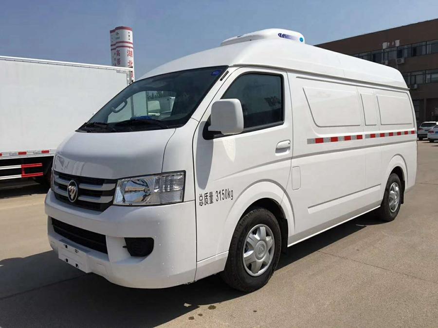 福田G7单排面包冷藏车︱2.9米冷藏车