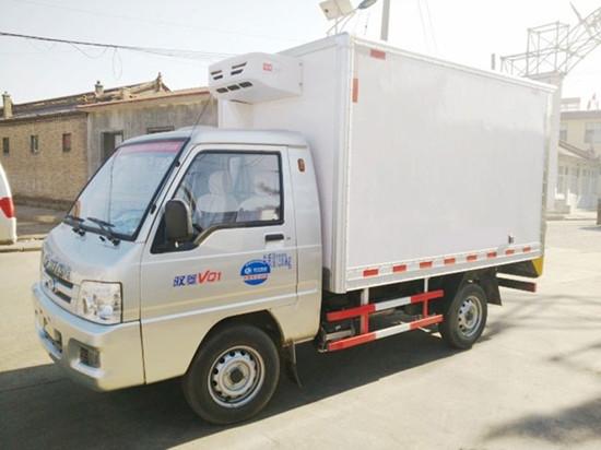 福田驭菱冷藏车︱2.6米冷藏车