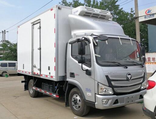 福田欧马可冷藏车︱4.2米冷藏车
