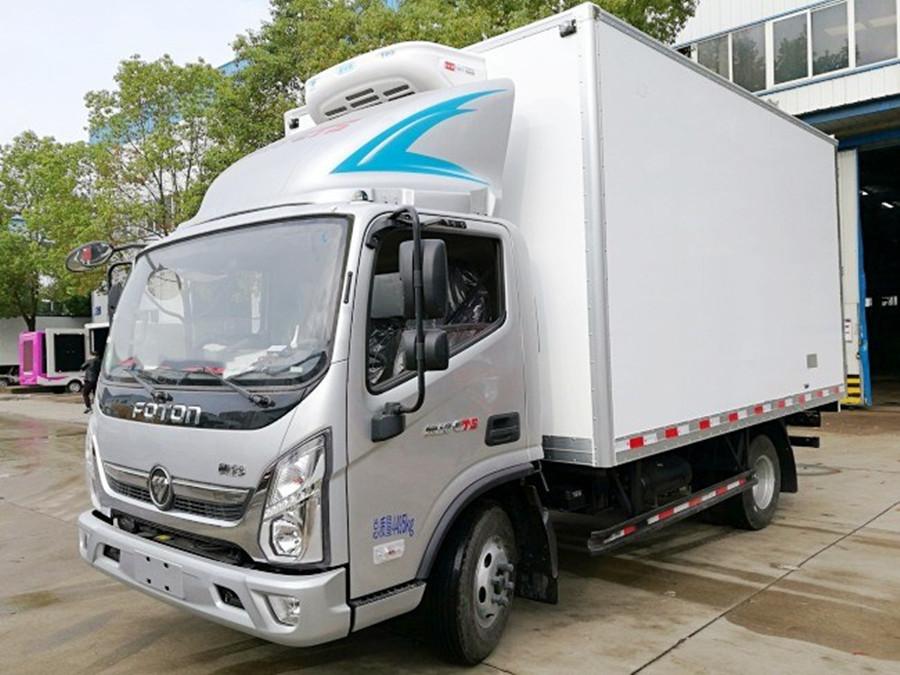 福田奥铃CTS冷藏车︱4.2米冷藏车