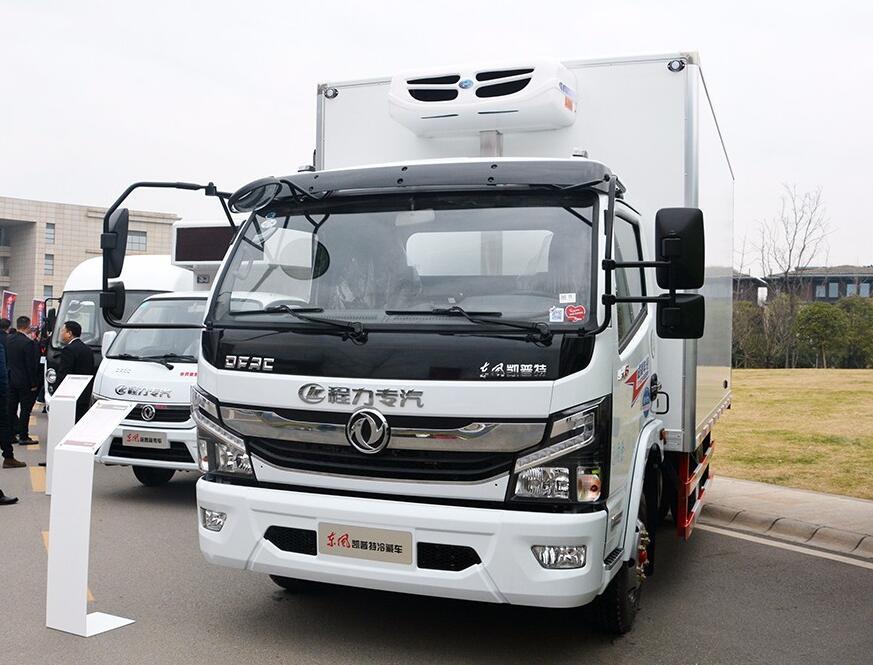 东风凯普特冷藏车︱4.2米冷藏车