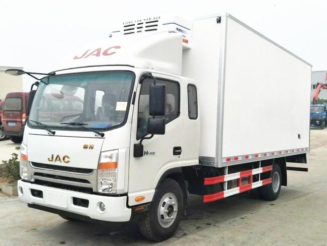 江淮帅铃一排半冷藏车︱5.2米冷藏车