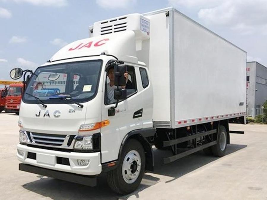 江淮骏铃一排半冷藏车︱5.2米冷藏车
