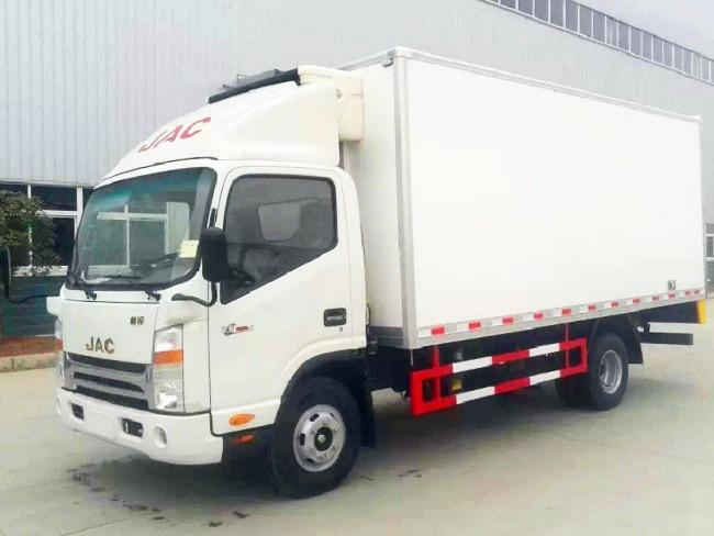 江淮帅铃单排冷藏车︱5.2米冷藏车
