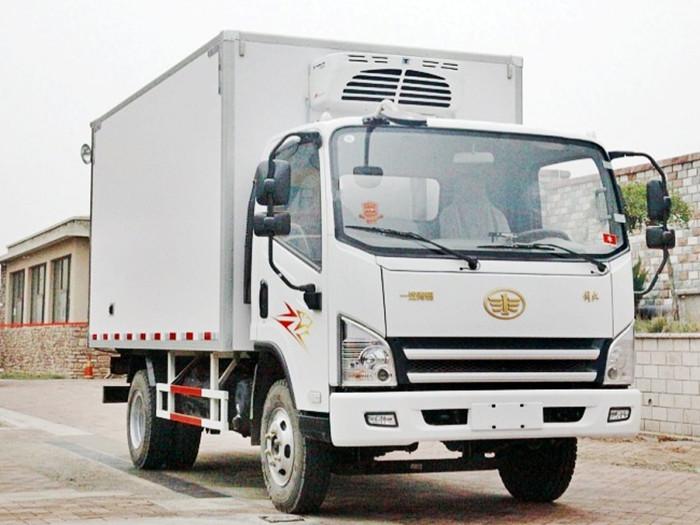 解放虎V冷藏车︱4.2米冷藏车