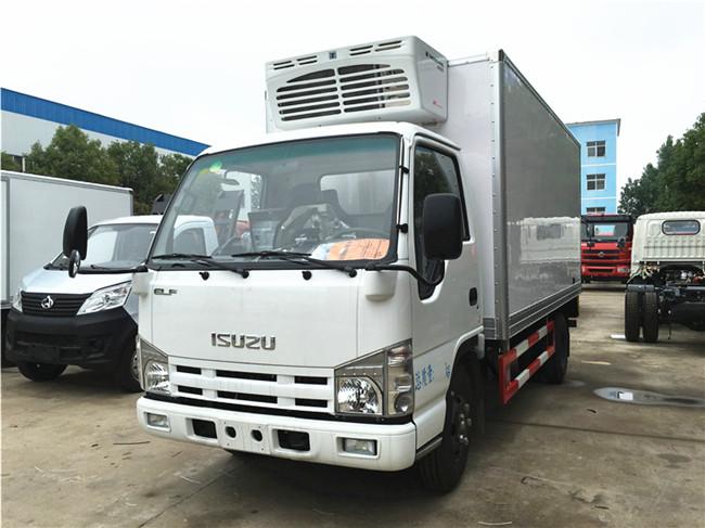 庆铃五十铃冷藏车︱4.2米冷藏车