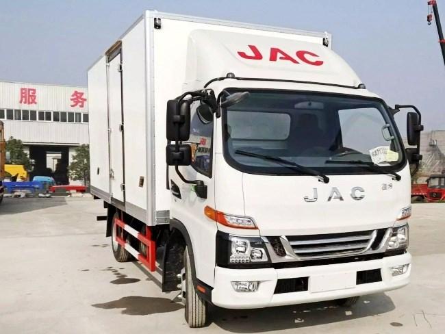 江淮骏铃单排冷藏车︱5.2米冷藏车