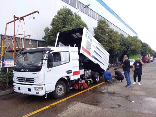 程力东风扫路车操作使用方法