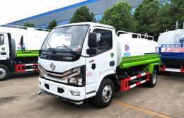东风多利卡洒水车︱5吨洒水车