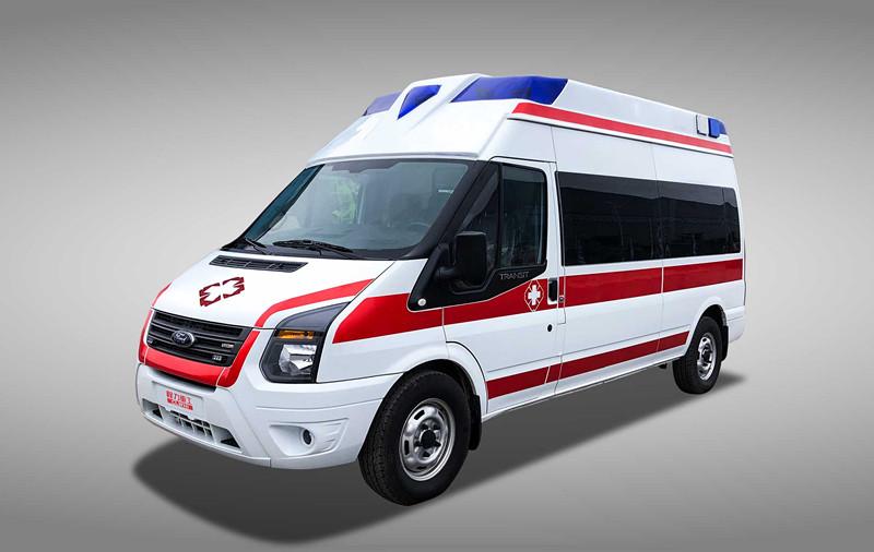 福特V348负压救护车︱监护型救护车