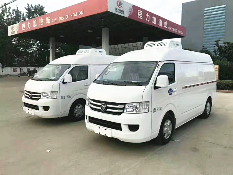 福田G7面包冷藏车(厢长2.9米)