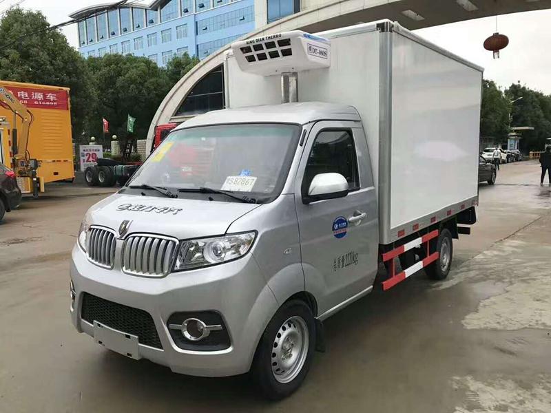 金杯T30冷藏车(厢长2.9米)