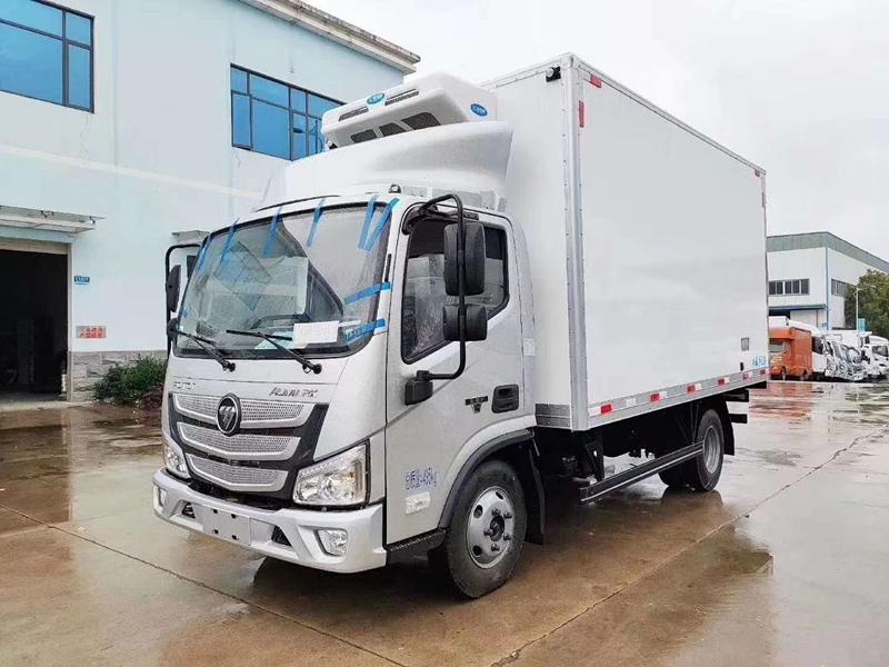 福田欧马可冷藏车(厢长4.2米)