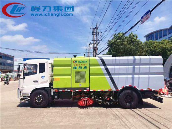 东风天锦洗扫车︱15吨洗扫车(国六)