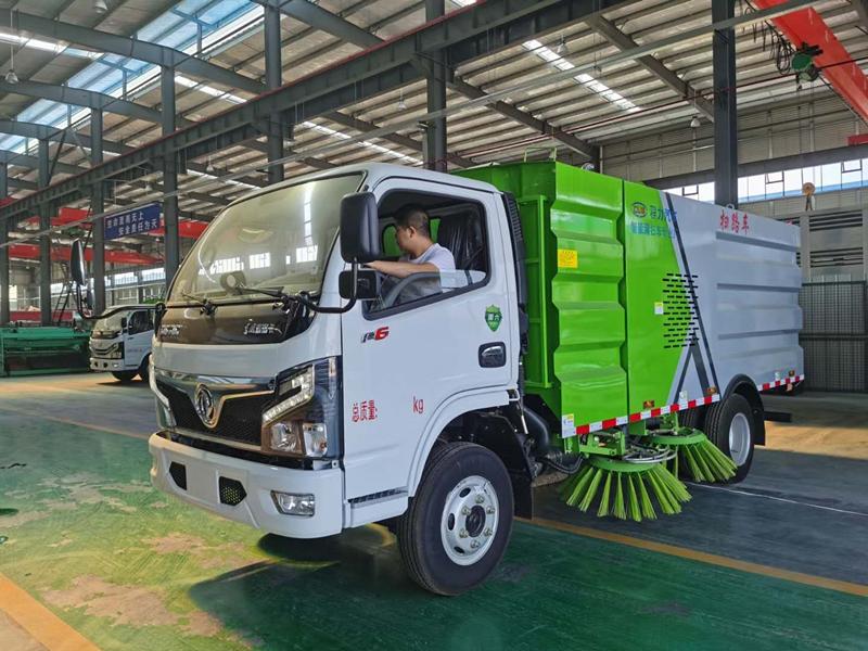 手机万博官网最新版本小福瑞卡5吨扫路车