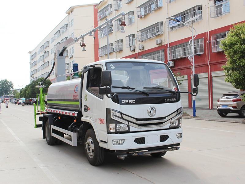 东风多利卡5吨铁路抑尘车(铁路)