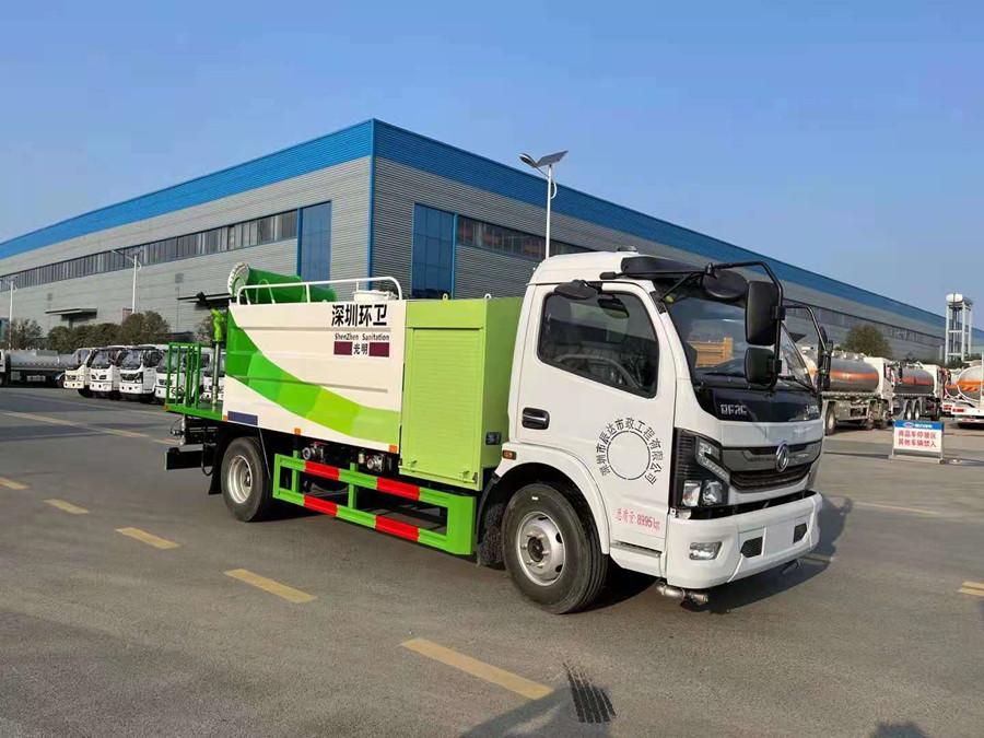 东风凯普特5吨纯电动抑尘车
